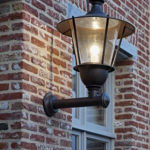 Landelijke buitenverlichting lantaarn