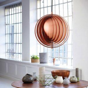 Verpan-moon-copper-pendant-moderne-verlichting