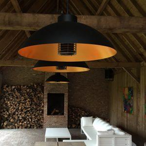 Moderne buitenverlichting Heatsail Dome pendant