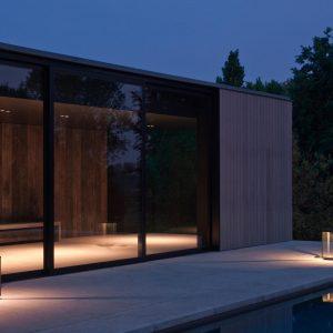 Moderne buitenverlichting Nautic Illford floor